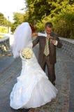 Happy bridal Stock Image