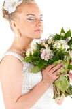 Happy bride Royalty Free Stock Photo