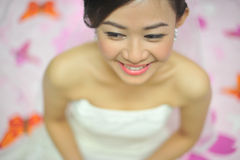 Happy bride Royalty Free Stock Photos