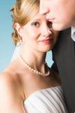 Happy bride Stock Images
