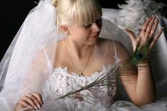 Happy bride Stock Photos