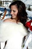 Happy Bride Royalty Free Stock Photos