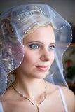Happy bride eyes Royalty Free Stock Photo