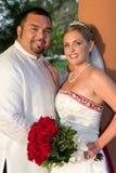 Happy Bride And Goom Royalty Free Stock Photo