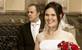 Free Happy Bride Vintage Look Stock Photography - 20874232