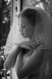 Happy bride on wedding Stock Photography