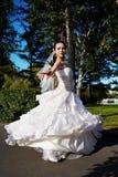 Happy bride wedding dancing Royalty Free Stock Photos