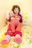 Happy brother and sister Royalty Free Stock Photos