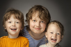 Happy brothers Royalty Free Stock Photography