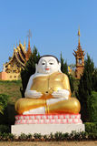 Happy buddah Royalty Free Stock Photo