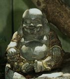 Happy Buddha Stock Image
