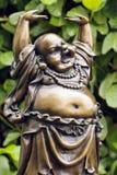 Happy buddha statue Stock Photography