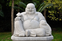 Happy Buddha Statue Royalty Free Stock Image