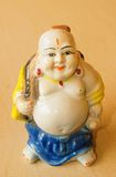 Happy buddha statue. Happy Buddha staue laughing for the home as symbol of luck and prosperity stock photo