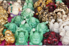Happy Buddhas Royalty Free Stock Photography