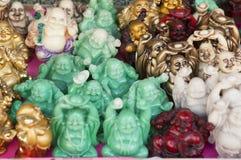 Happy Buddhas Royalty Free Stock Photography