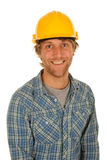 Happy builder Stock Image