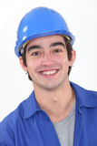 Happy builder Royalty Free Stock Photography