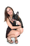 Happy Bull Dog Stock Image