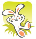 Happy bunny Royalty Free Stock Photos