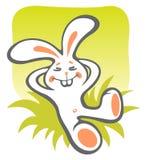 Happy bunny Royalty Free Stock Photos