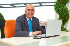 Happy business Stock Photography