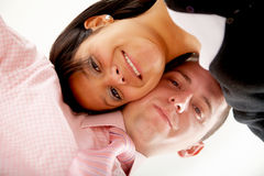 Happy business couple Royalty Free Stock Photo