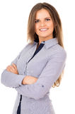 Happy business girl Stock Photos
