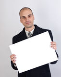 Happy business man Royalty Free Stock Photo