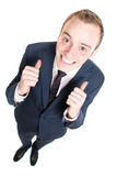 Happy business man Stock Image