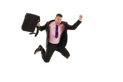 Happy business man Royalty Free Stock Images