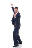 Happy business man Stock Photo