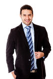 Happy business man Royalty Free Stock Photos