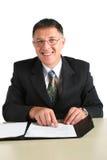 Happy business man Stock Image