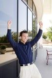 Happy business man Royalty Free Stock Photo