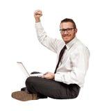 Happy business Stock Photo