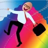 Happy Business Man royalty free illustration