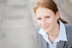 Happy Business Manager with a Smile Stock Photography