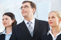 Happy business people Stock Image