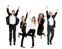 Happy business people Stock Photo