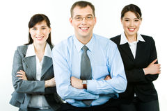 Happy business people Stock Photography