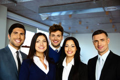 Happy business people standing Stock Photography