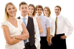 Happy Business Team Royalty Free Stock Photo