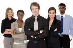 Happy Business Team stock photography