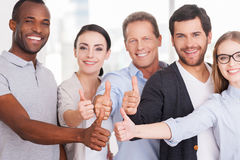 Happy business team. Stock Photography