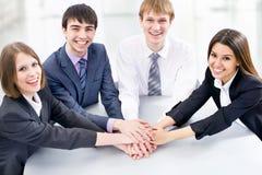 Happy business team Stock Photo