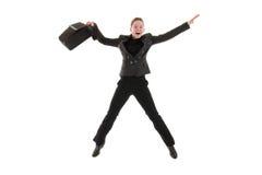Happy business woman Stock Photo