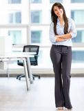 Happy business woman Stock Photos