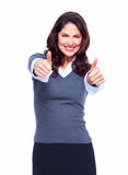 Happy Business woman. Success. Stock Photography