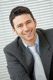 Happy businessman Royalty Free Stock Photography